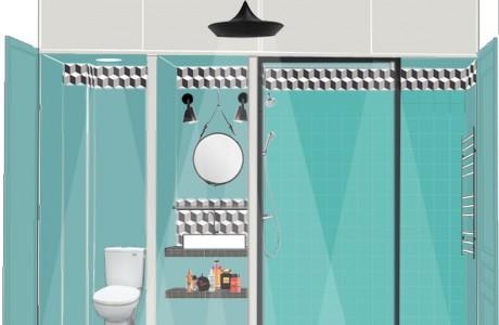 Les croquis FusionD. Les croquis permettent de mettre en situation la pièce en devenir. Espaces et volumes sont ainsi mieux appréhendés. Le ton est donné par le style déco choisi, les matériaux et couleurs… Généralement très détaillés, ils aident les clients à se projeter, afin d'appréhender sereinement les changements.