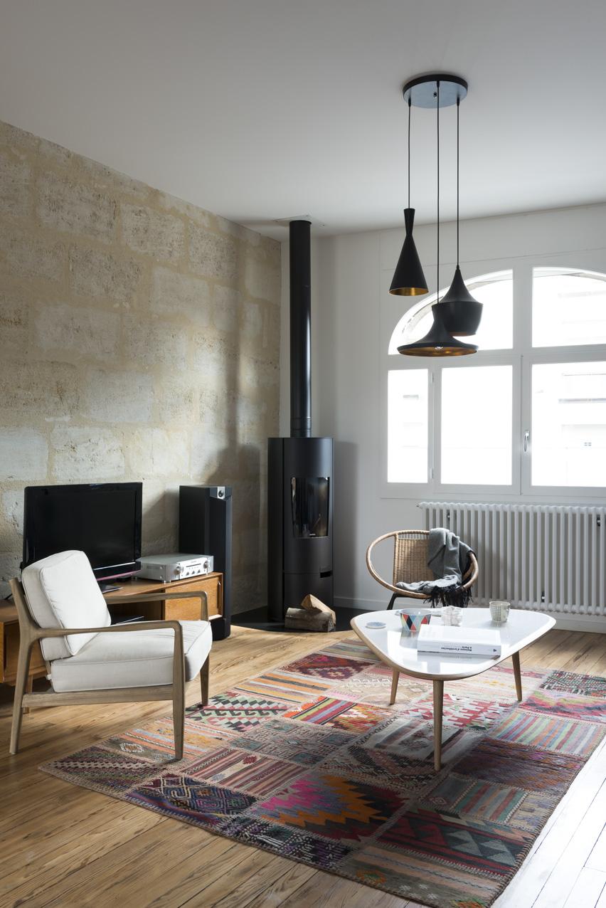 fusion d r novation d une maison art d co bordeaux centre. Black Bedroom Furniture Sets. Home Design Ideas