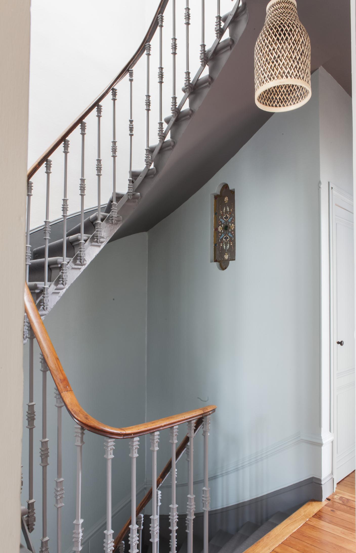 Escalier Dans Maison Ancienne fusion d – rénovation décoration maison bourgeoise 210 m2